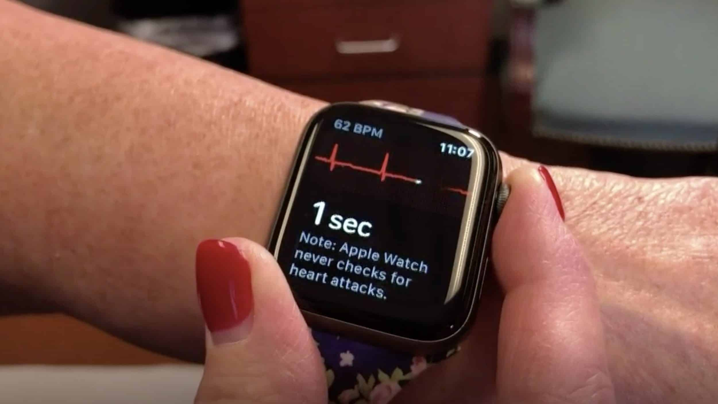 Kentucky Woman Saved From AFib By Her Apple Watch