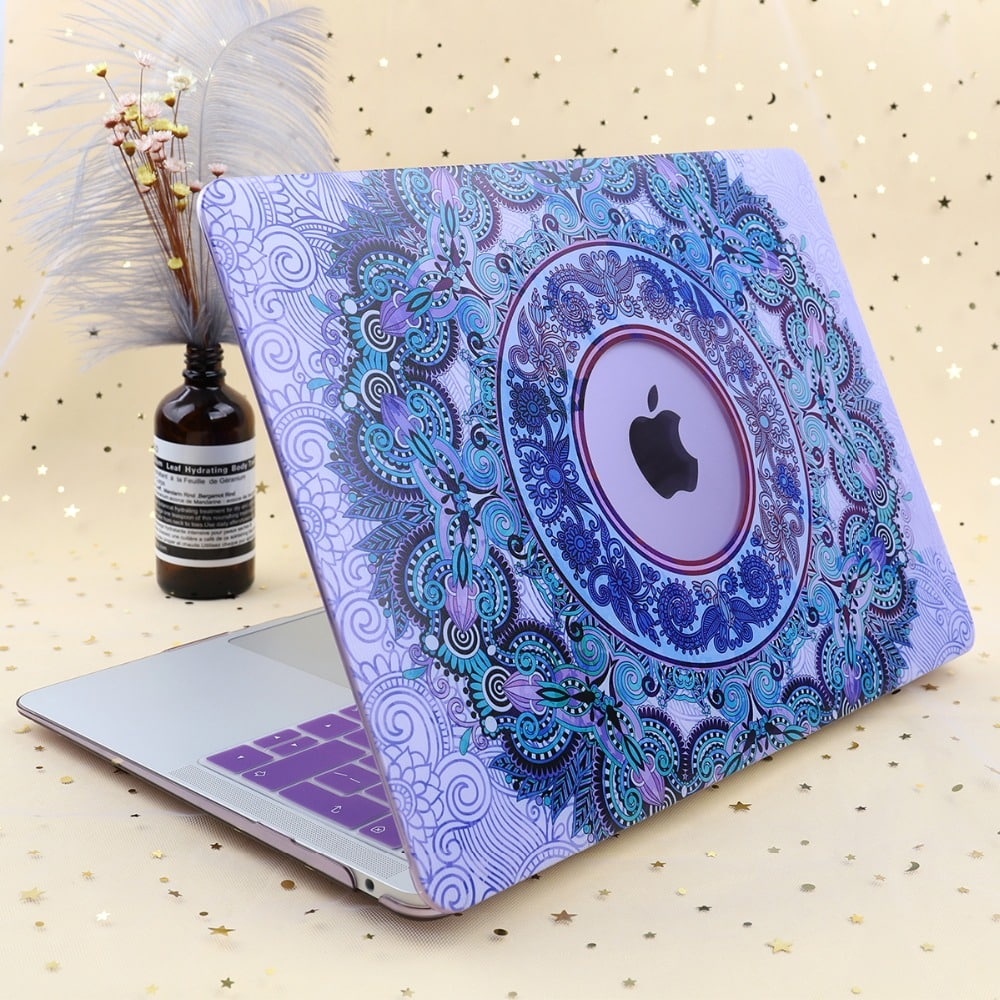 Mandala print case for MacBook Pro 2019 13 inch