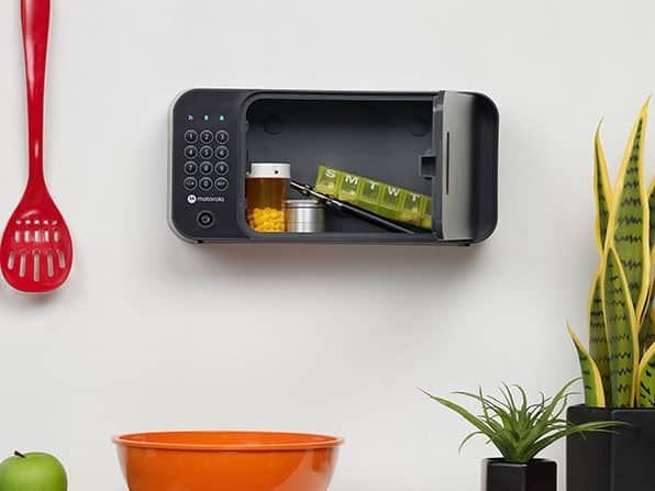 Motorola Smart Safe with Secure Wall Mounting
