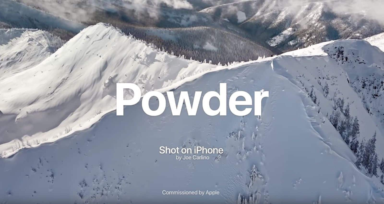 New Shot on iPhone video 'Powder' now available