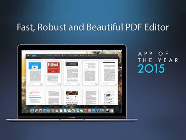 PDF Expert with MacBook