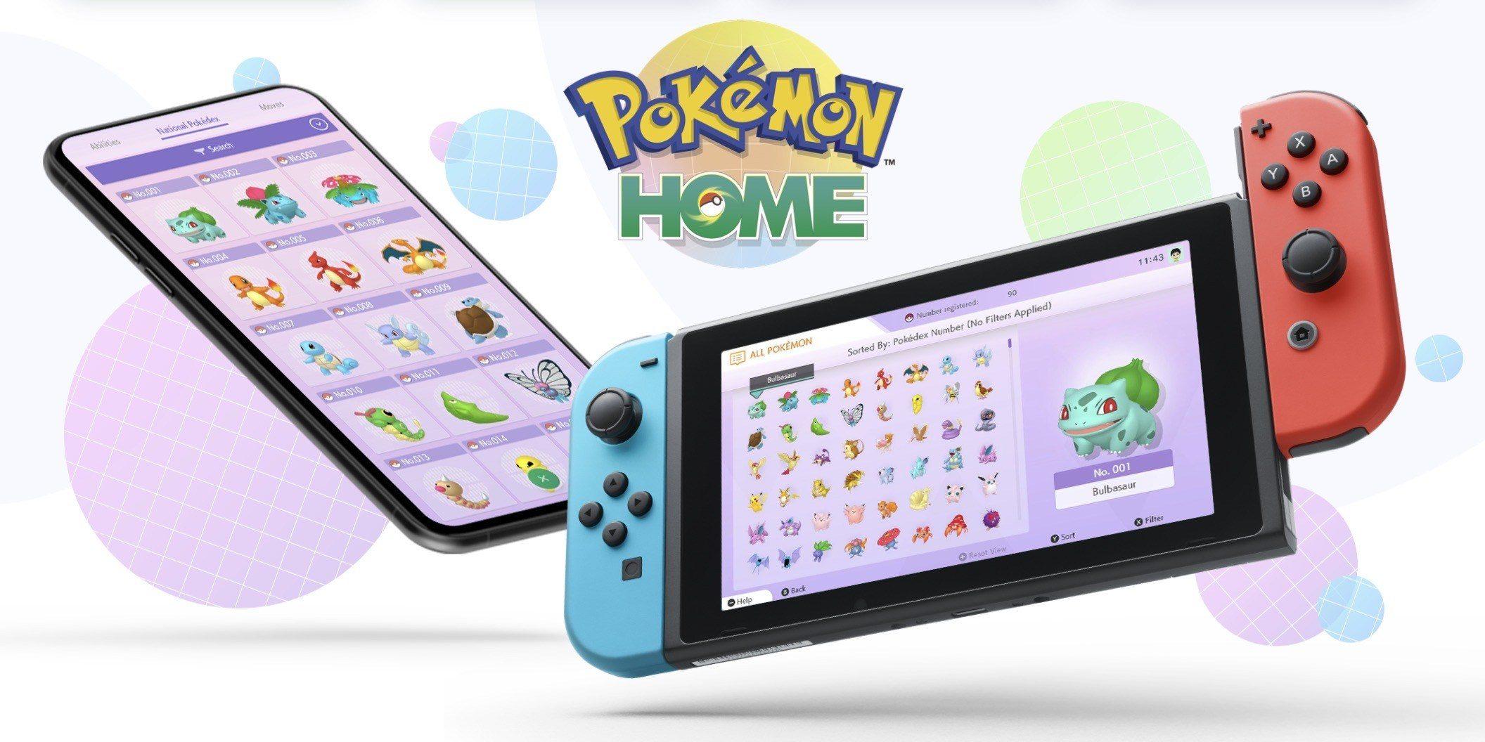 Pokemon Home App