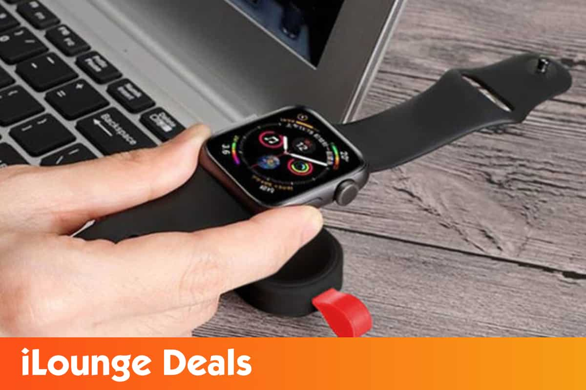 Get 43% off on the portable keychain Apple Watch charger 1