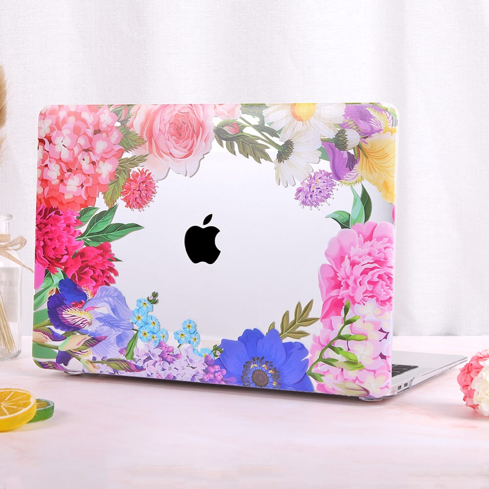Redlai Colorful Flowers Case for MacBook Pro 2019 13 inch