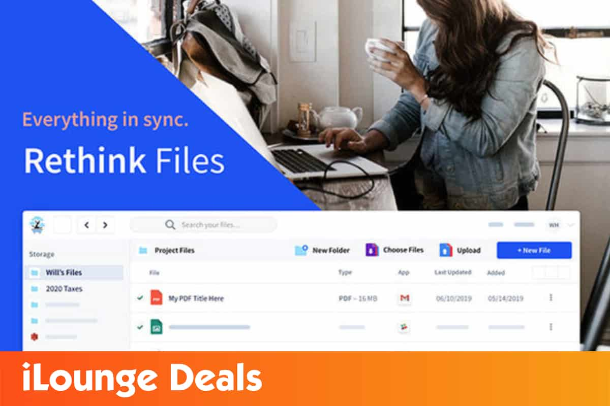 Get 98% off on the Rethink files 2TB cloud storage