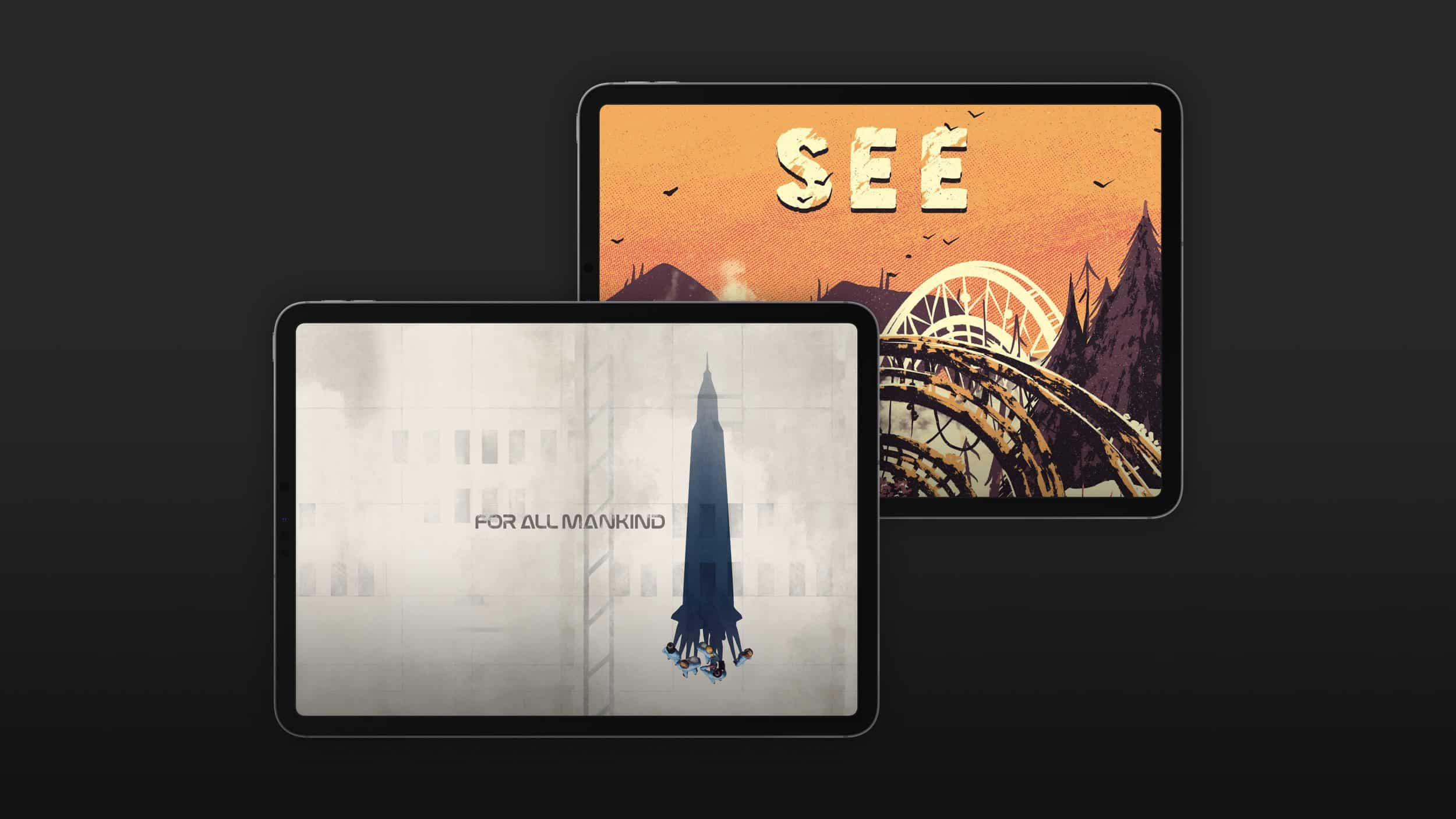 Today at Apple Features 'Apple TV+ iPad Poster Series'