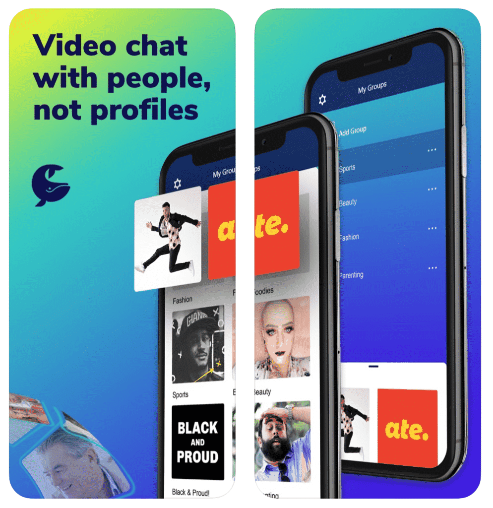SAY:  A Conversation Network for Authentic Video Chats
