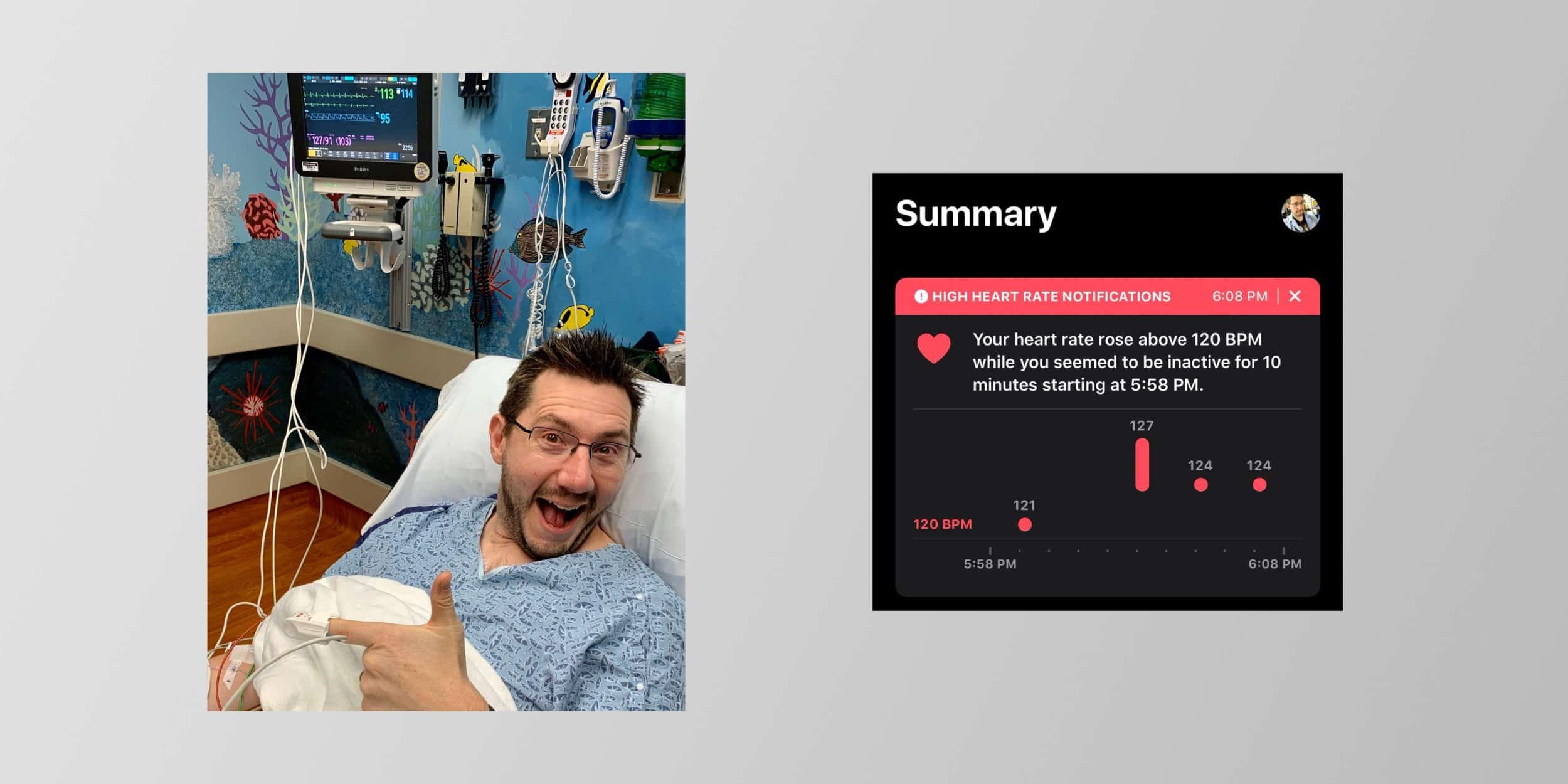 YouTuber Saved by Apple Watch's High Heart Rate Notification
