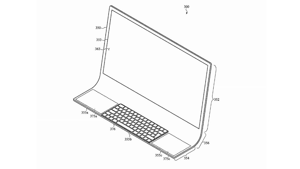 Patent suggests a new curved glass iMac is coming