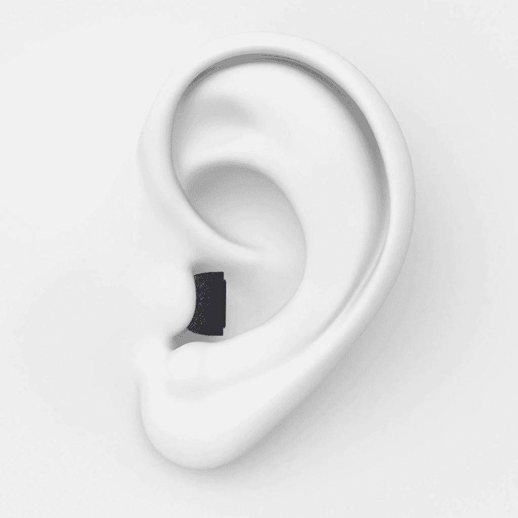 AirPods Pro Foam Tips inside ears