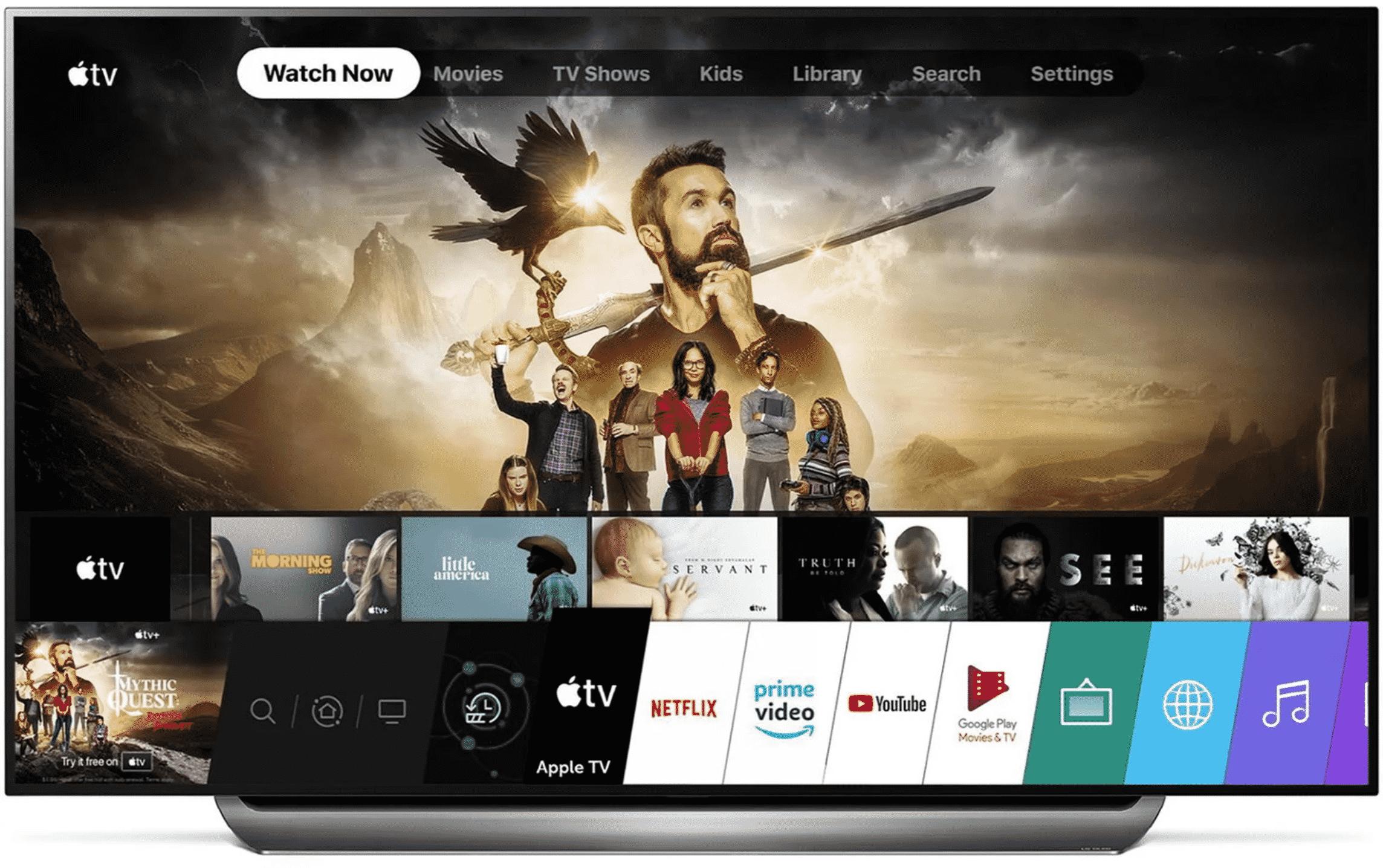 Apple TV App Appears on Select LG TVs