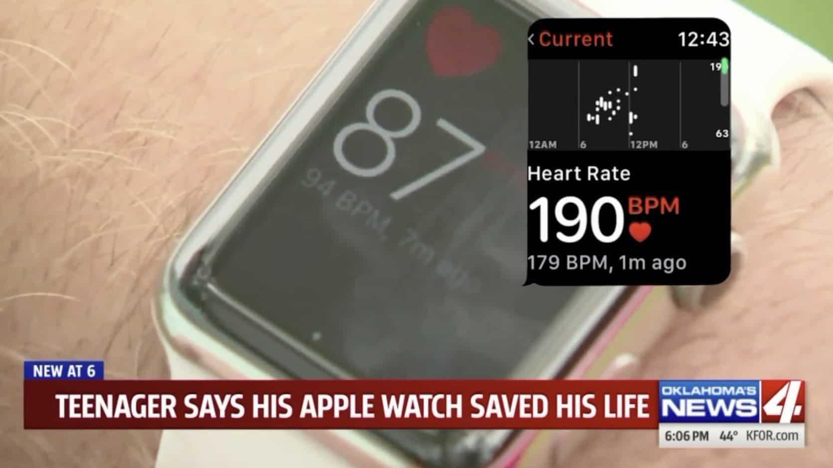 Apple Watch Credited for Saving 13-Year Old in Oklahoma