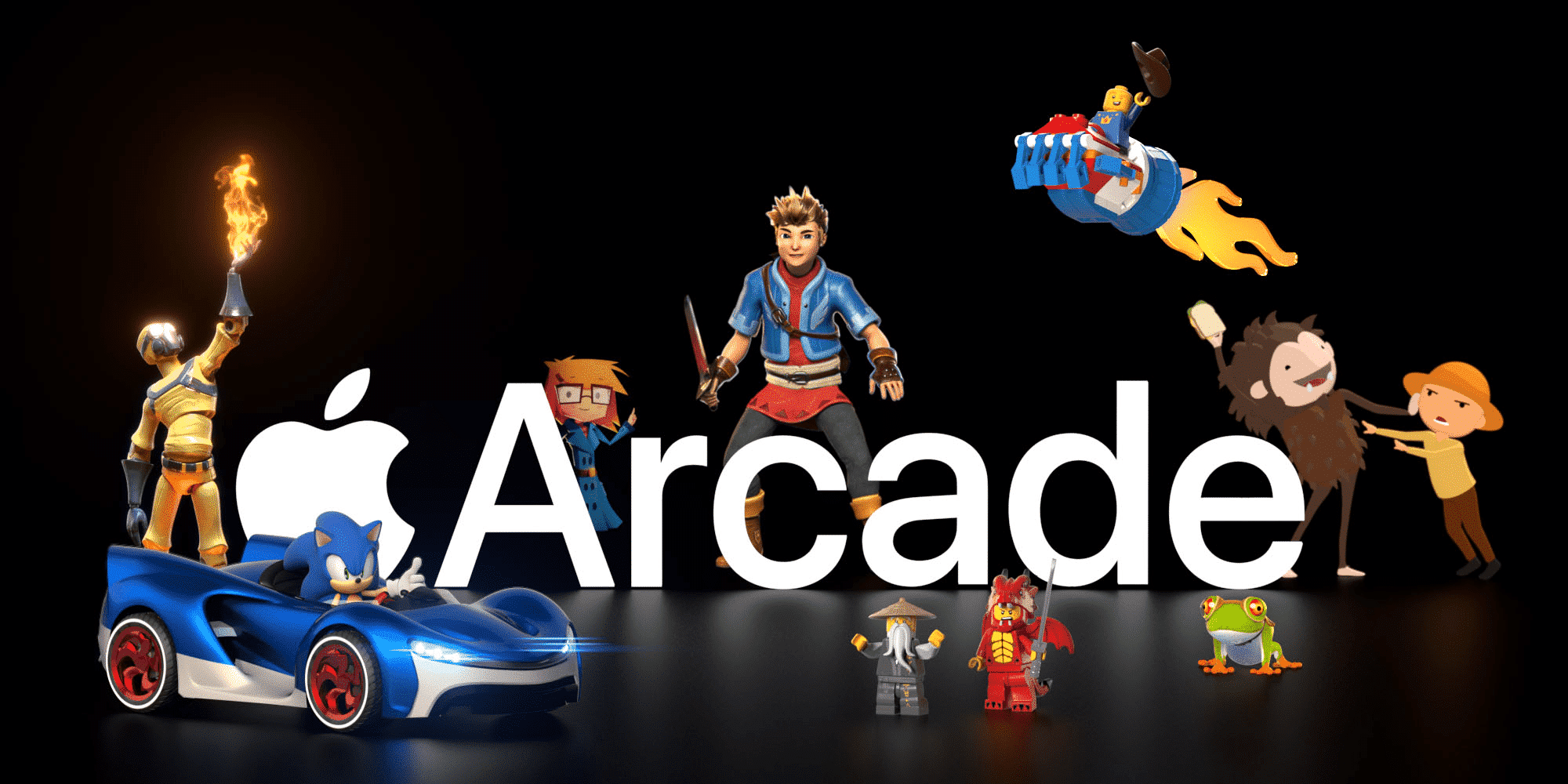 Apple website 'Taken Over' by Apple Arcade characters