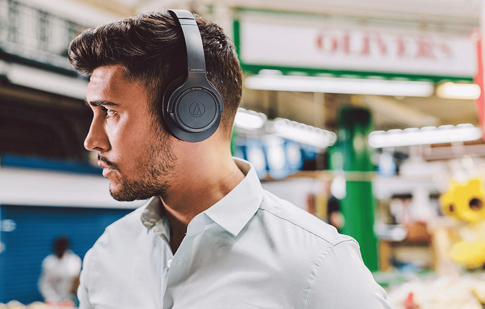 Audio-Technica Bluetooth Over-Ear Headphones