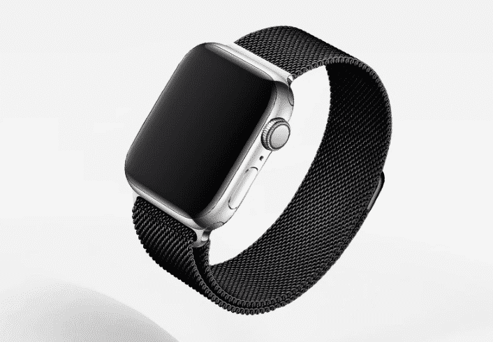This is the Black Loop Band for 44mm and 40mm Apple Watch Series 5.