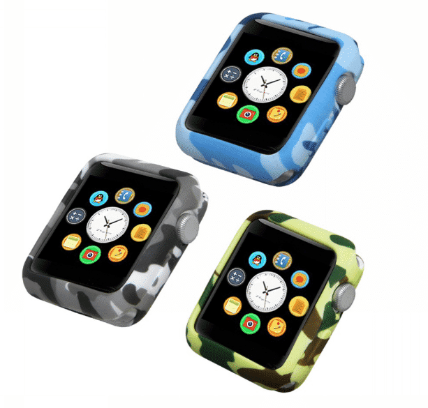 This is the Camouflage Soft Case for 44mm and 40mm Apple Watch Series 5.