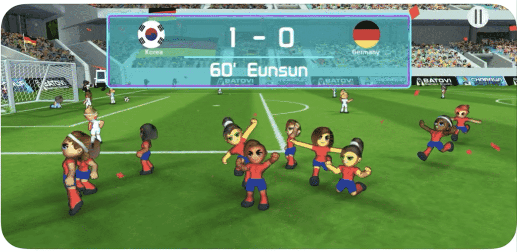 Charrua Soccer on Apple Arcade