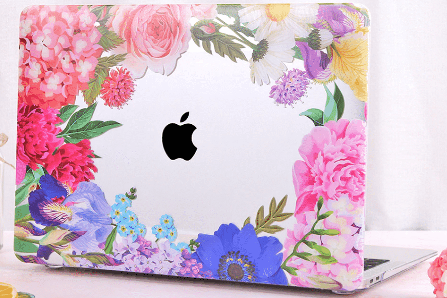 This is the Crystal Flower MacBook Pro 16 inch case.