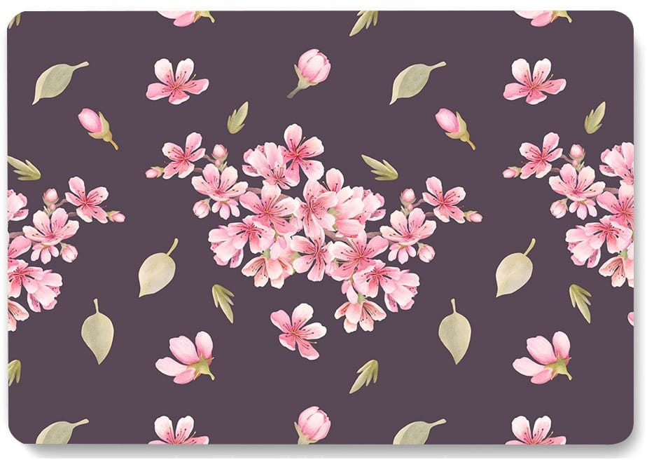 This is the Flowers Pattern MacBook Pro 16 inch case.