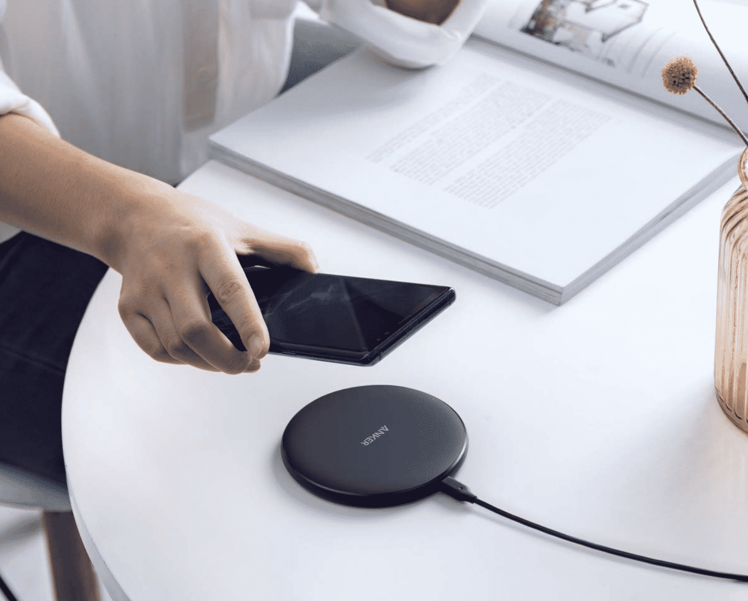 Get Anker's Wireless Qi Pad Charger for Less Than $10