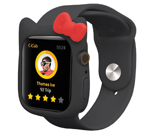 This is the Hello Kitty Case for 44mm and 40mm Apple Watch Series 5.
