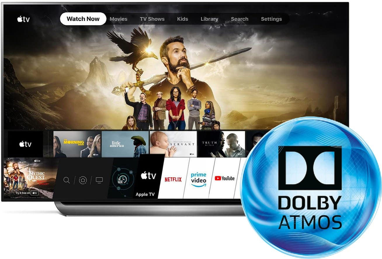 LG's Smart TVs to have Dolby Atmos Sound in Apple TV App