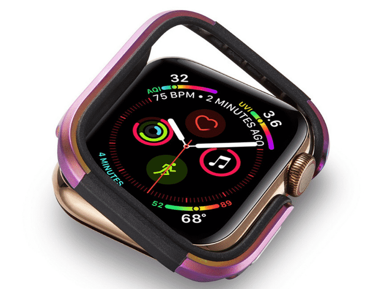 This is the Luxury Metal Case for 44mm and 40mm Apple Watch Series 5.