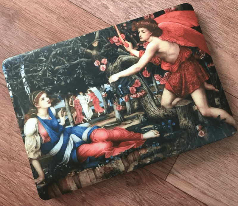 This is the Art Oil Painting MacBook Pro 16 inch case.