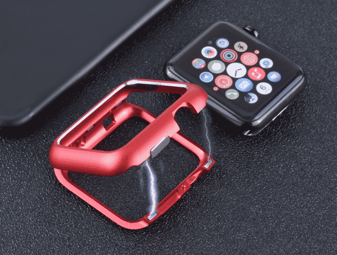 This is the Magnetic Adsorption Case for 44mm and 40mm Apple Watch Series 5.