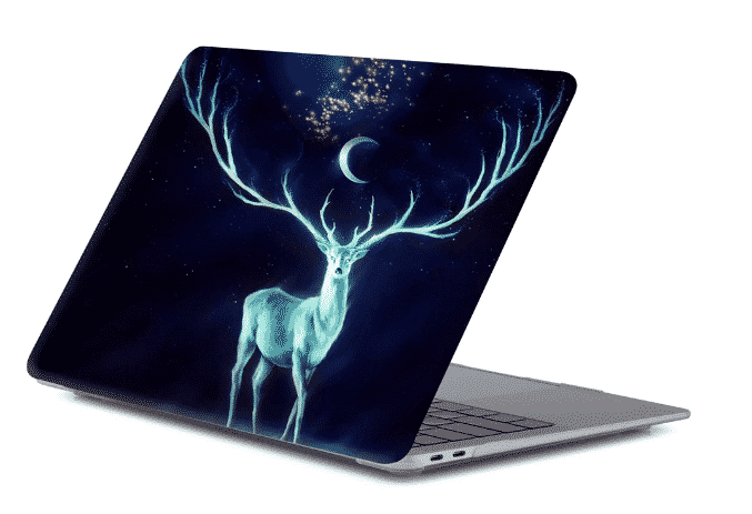 This is the Matte Texture Printing Frosted MacBook Pro 16 inch case.