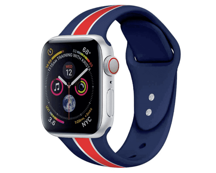 This is the Nato Band for 44mm and 40mm Apple Watch Series 5.