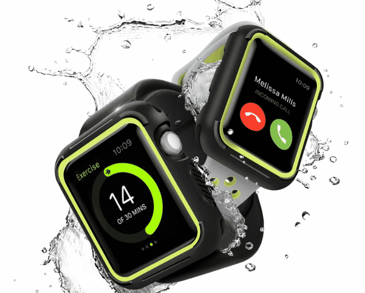 This is the Nike Style Case for 44mm and 40mm Apple Watch Series 5.