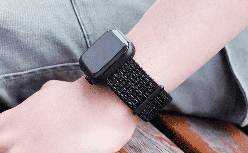 This is the Nylon Band for 44mm and 40mm Apple Watch Series 5.