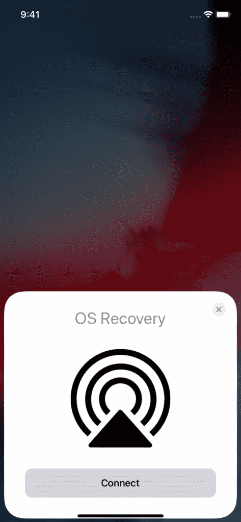OTA recovery code