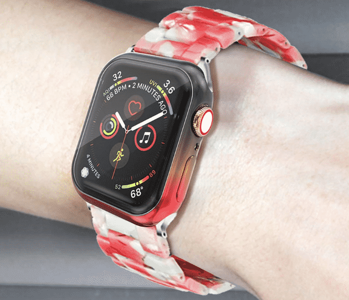 This is the Plating Gradient Case for 44mm and 40mm Apple Watch Series 5.