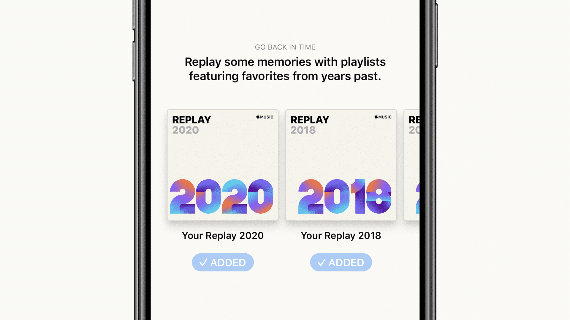 'Replay 2020' on Apple Music now available