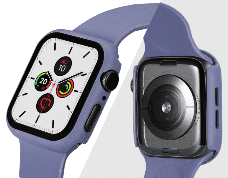This is the Shell Protector Case for 44mm and 40mm Apple Watch Series 5.