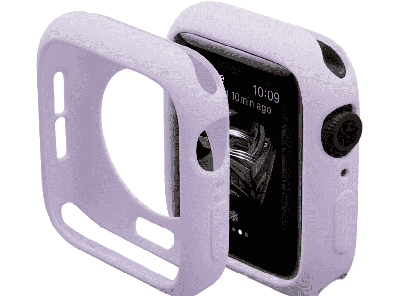 This is the Soft Silicone Case for 44mm and 40mm Apple Watch Series 5.