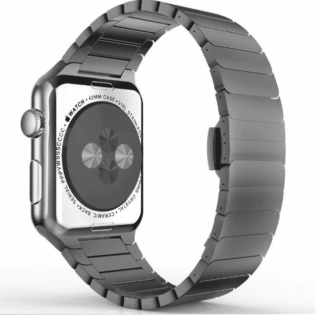 This is the Sports Bracelet Band for 44mm and 40mm Apple Watch Series 5.