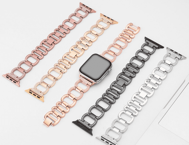 This is the Steel Band for 44mm and 40mm Apple Watch Series 5.
