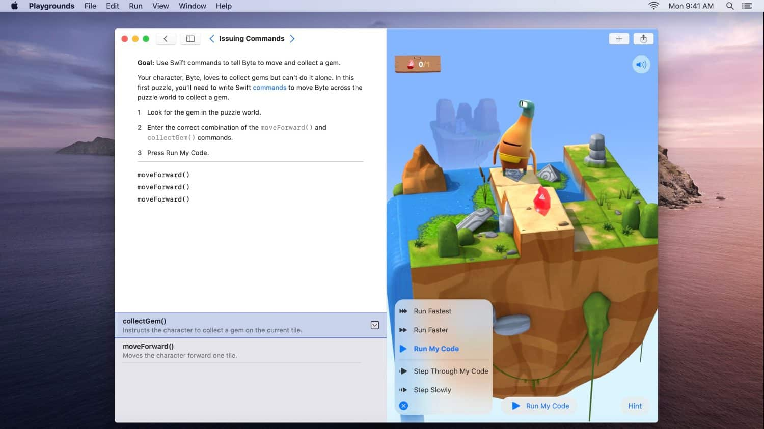 Swift Playgrounds app now available on the Mac 1