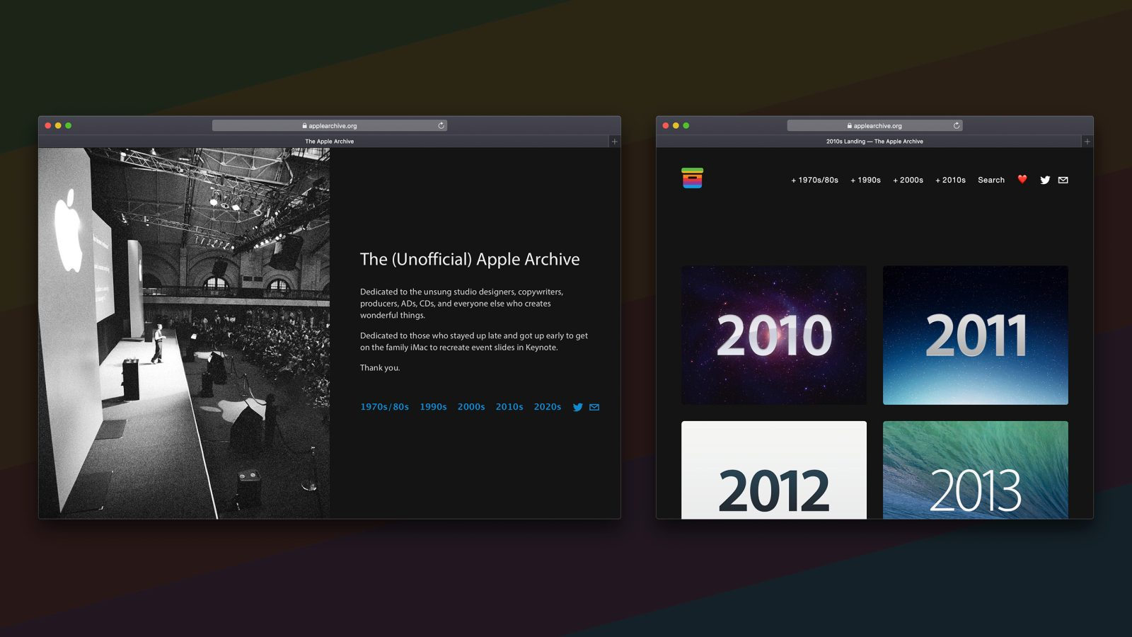 The unofficial Apple archive is dying