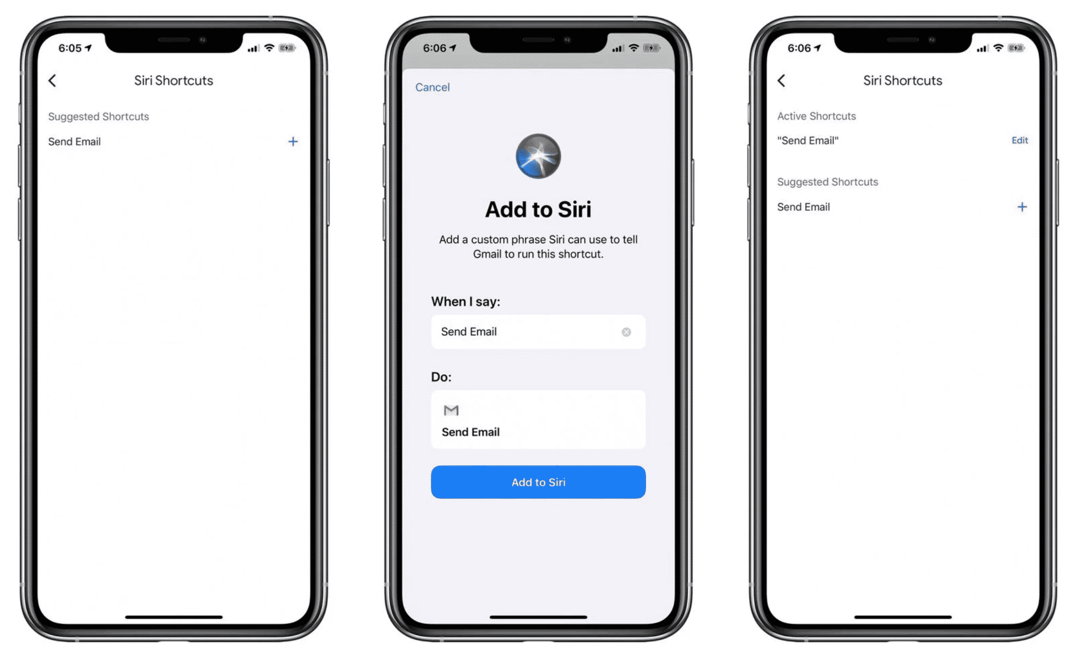 iOS Gmail App Updated with Siri Shortcuts