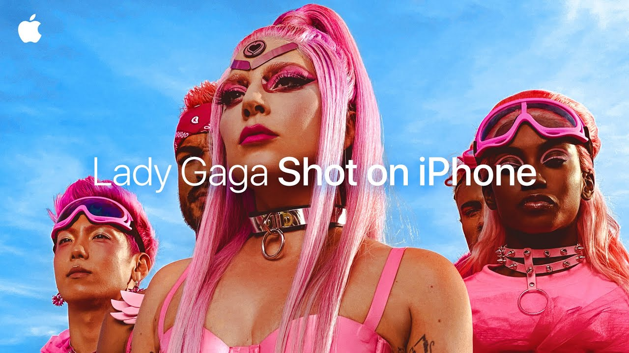 Lady Gaga's new Music Video teaser shot on iPhone