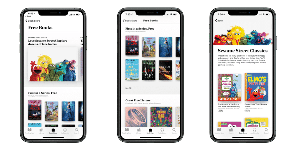 Apple books offers free E-Books and Audiobooks for kids for a limited time