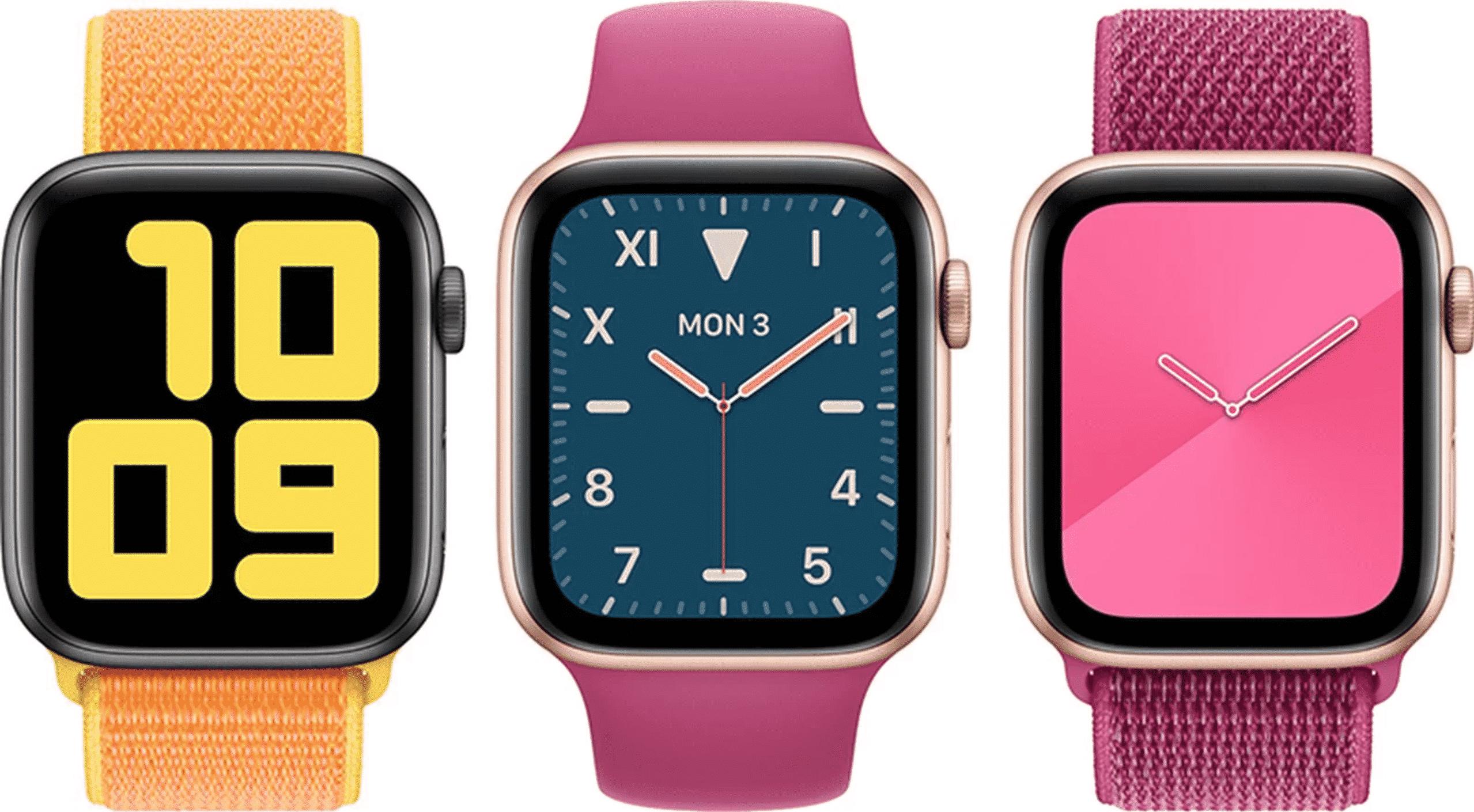 Apple Releases watchOS 6.2