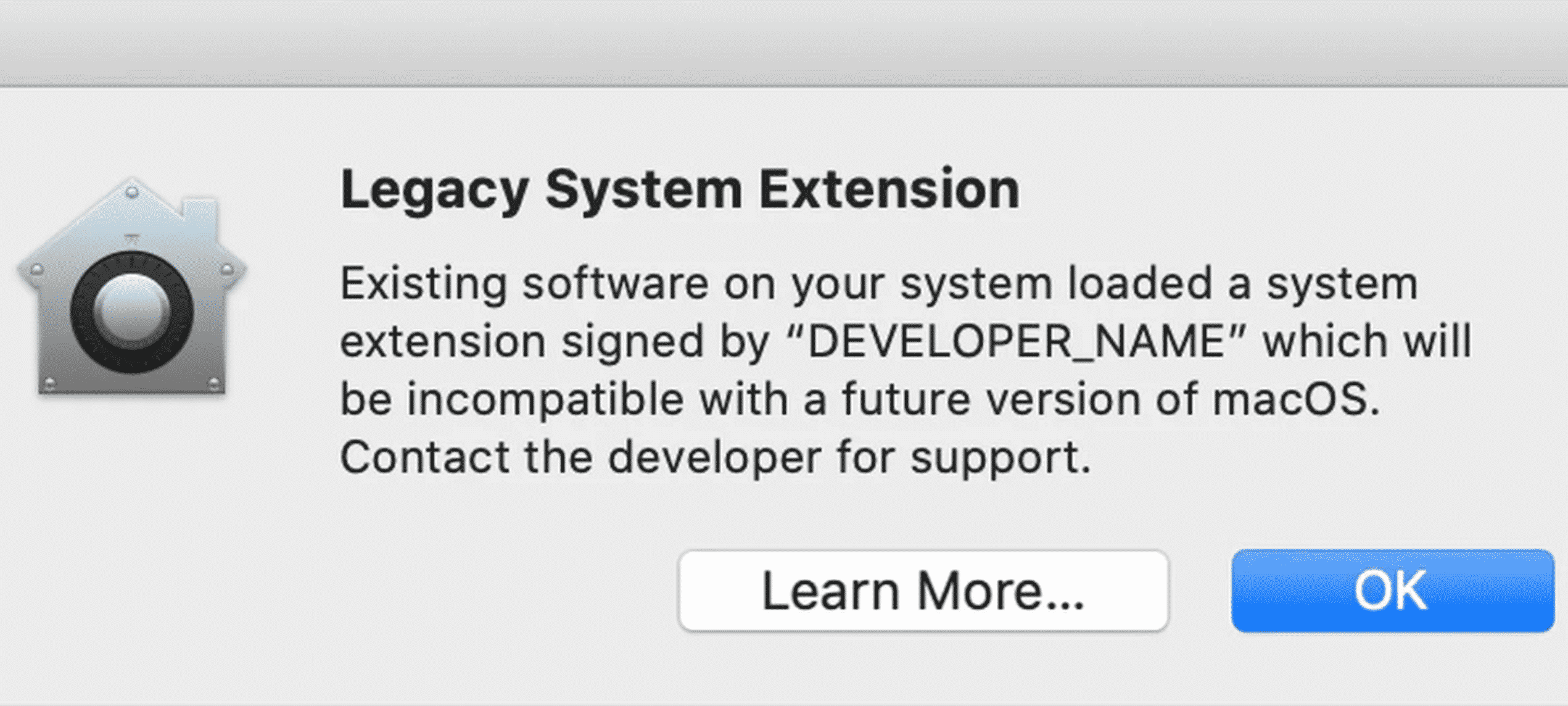 Legacy System Extensions