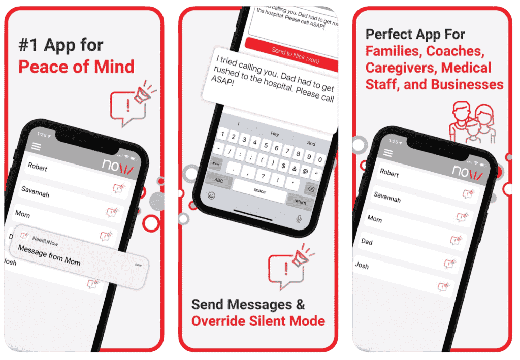 NeedUNow app information