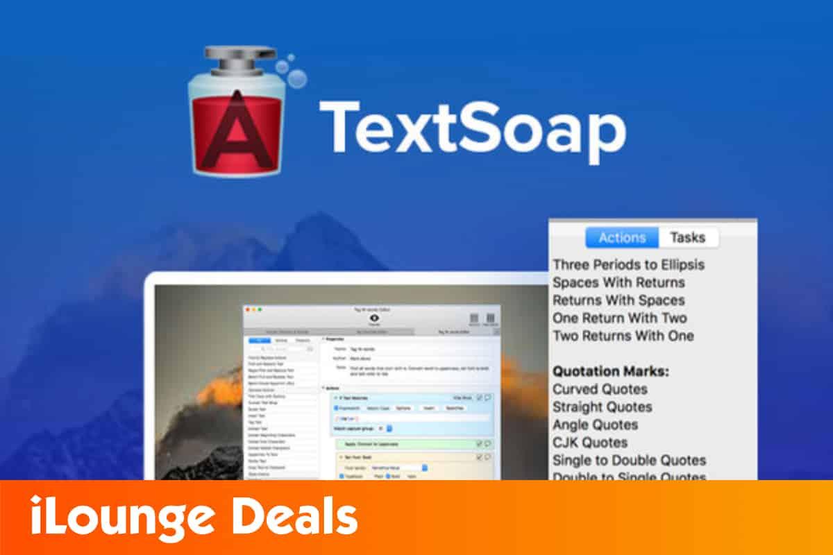 TextSoap Mac App