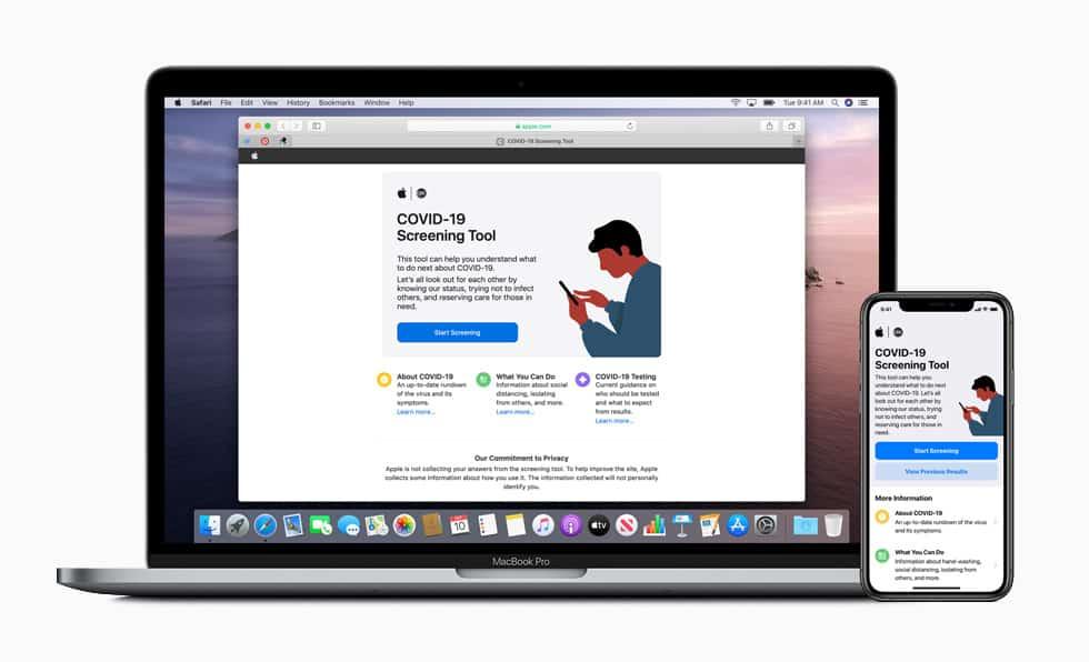 Apple releases COVID-19 screening tool 1